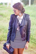 silver Forever 21 accessories - black Forever 21 jacket