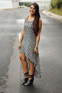 Black-floral-print-forever-21-dress-black-buckle-shoedazzle-wedges