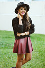 Black-cut-out-ankle-black-poppy-boots-black-forever-21-hat