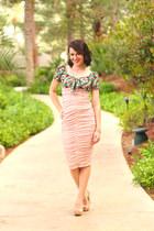 asos dress - Sole Society heels