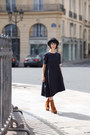 Acne-boots-cos-dress-vintage-hat