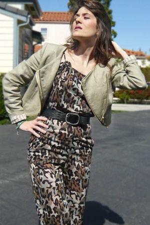 H&M jacket - Mango jacket - Bel Air belt