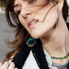 2774063906livingthevogue_peacock-earings-jacket-pimkie-scarf-h_m