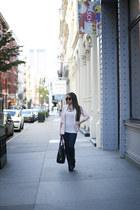 BCBGeneration jacket - Schutz boots - bella luxx leggings - bella luxx top