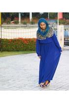 maxi dress Girlies Barn dress - peep toe elo heels