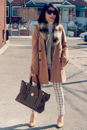 tan pointy pumps restricted shoes - camel asos coat