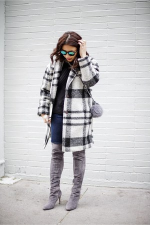heather gray madewell coat
