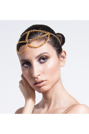 head chain FeathersandGlamour accessories