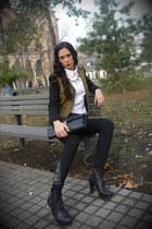 MNG blazer - Vero Moda shirt - Stradivarius pants