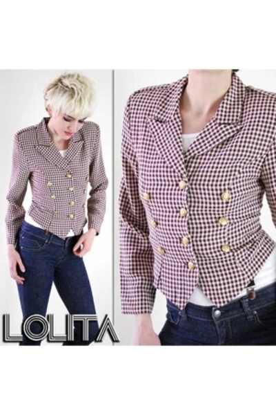 white Lolita Vintage jacket