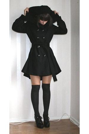 pink MQ scarf - black Vila jacket