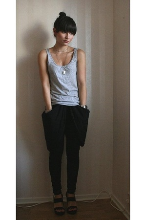 H&M top - Diana Orving pants - PROENZA SCHOULER shoes