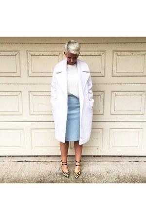 white white coat asos coat