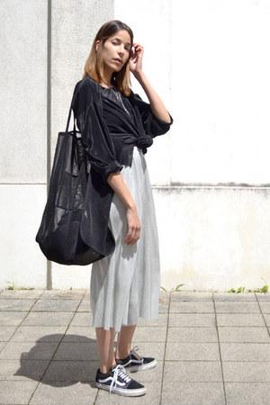 silver silver Zara skirt