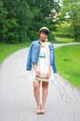Forever-21-dress-jean-jacket-dynamite-jacket-bergstrom-scarf