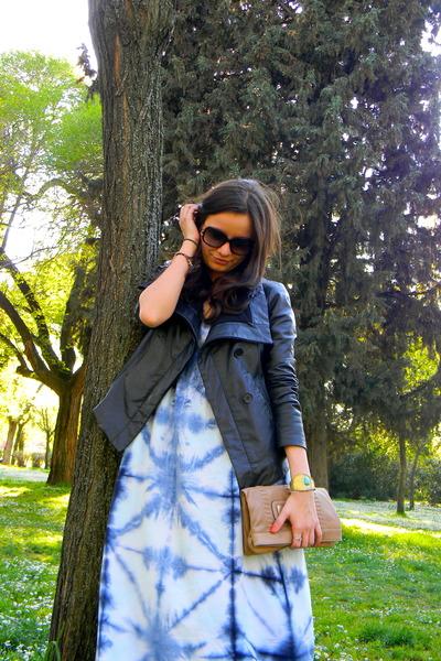 sky blue Lucky Brand dress