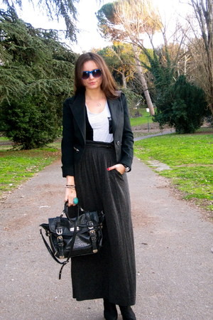 Miss Sixty blazer - River Island bag - Massimo Dutti skirt
