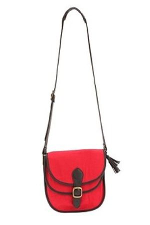 red Urban Outfitters purse - white