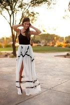 black Steve Madden dress