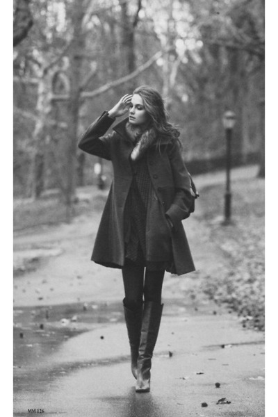 black thrifted blazer