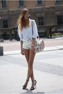 Light-blue-zara-shirt-eggshell-zara-bag-eggshell-zara-shorts