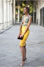 Yellow-designed-by-myself-dress-black-zara-bag-ivory-swarovsky-ring