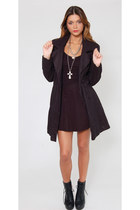 Vintage Betsey Johnson Minimalist Long Blazer