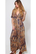 Vintage Ethnic Tribal Jumpsuit