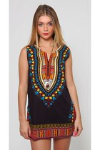 Vintage Dashiki Tunic Dress