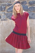 Striped-lotus-vintage-dress