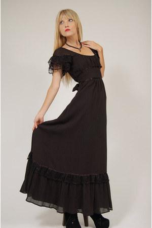 gothic Lotus Vintage dress