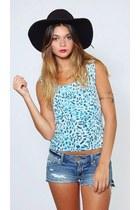 Vintage Leopard Print Knit Top