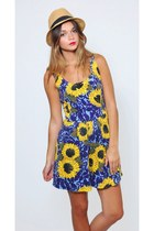 Vintage Sunflower Revival Romper