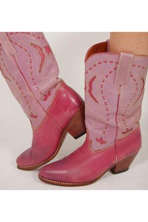 cowboy Lotus Vintage boots