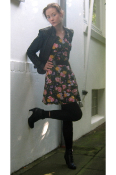 Zara jacket - german shoe discounter shoes - dress