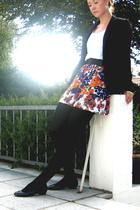 H&M blazer - H&M t-shirt - Zara dress