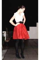 skirt - Zara shoes