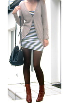 Zara dress - Zara jacket - shoes