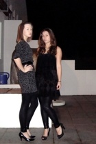 my mums dress - Urban Outfitters dress - American Apparel tights - H&M shoes - Z