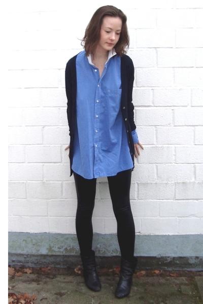 Zara jacket - Pierre Cardin shirt - aa tights - my mums shoes