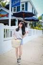 Silver-chiffon-asos-shirt-beige-straw-h-m-bag