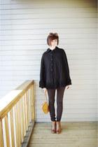 black vintage cape cape