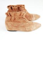 bronze vintage boots