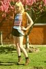 Leopard-amiclubwear-boots-vintage-shirt-denim-american-apparel-shorts