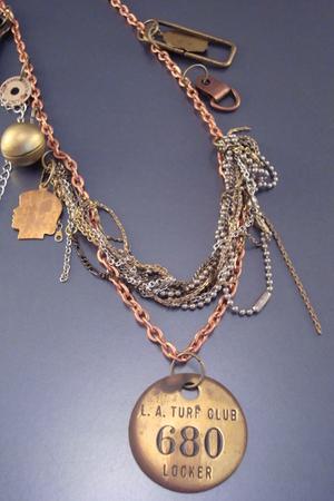 gold Un-Conventional necklace