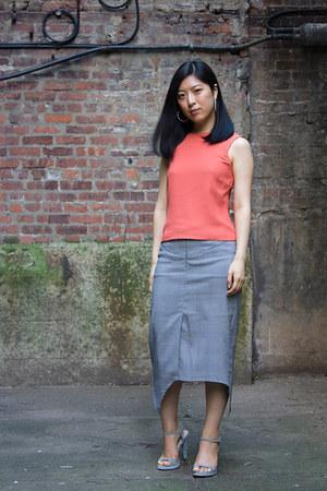 Atelier Shoes shoes - Bebe skirt - emporio armani top