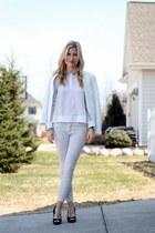 Zara blazer - Zara purse - Zara blouse - Zara pants