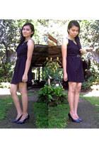 light brown retro owl ring OASAP ring - black Korean Fashionwear dress