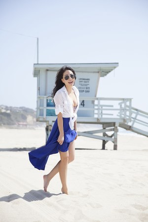H&M swimwear - American Apparel skirt