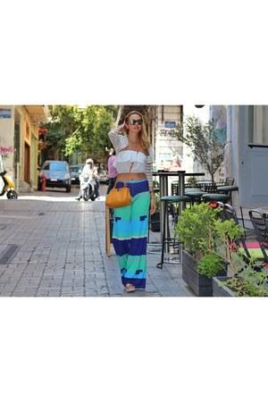 Fendi bag - Chanel sunglasses
